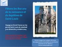 25 avril 2014 : 800 ans de la naissance et du baptême de Saint Louis